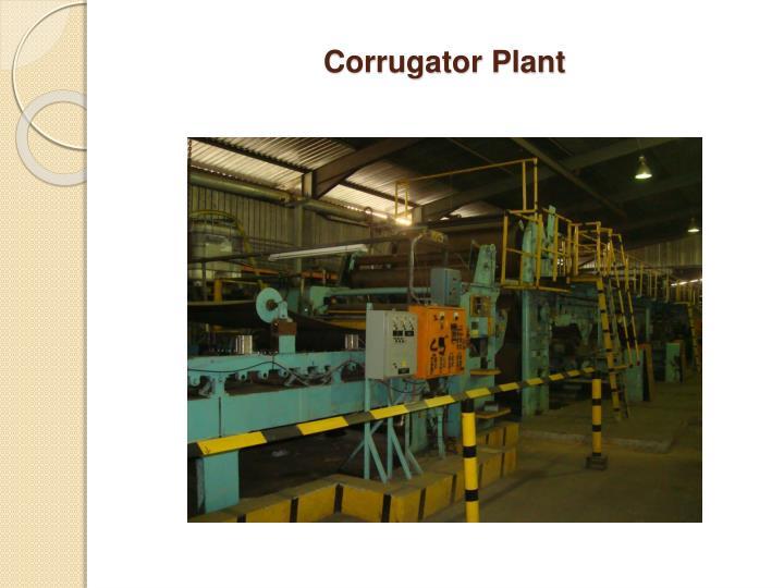 Corrugator Plant