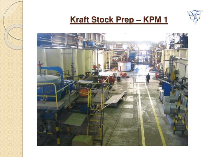 Kraft Stock Prep – KPM 1