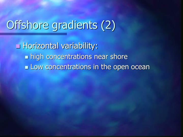 Offshore gradients (2)