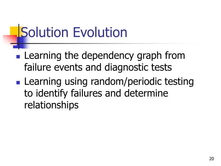 Solution Evolution