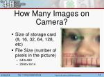 how many images on camera1