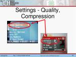 settings quality compression