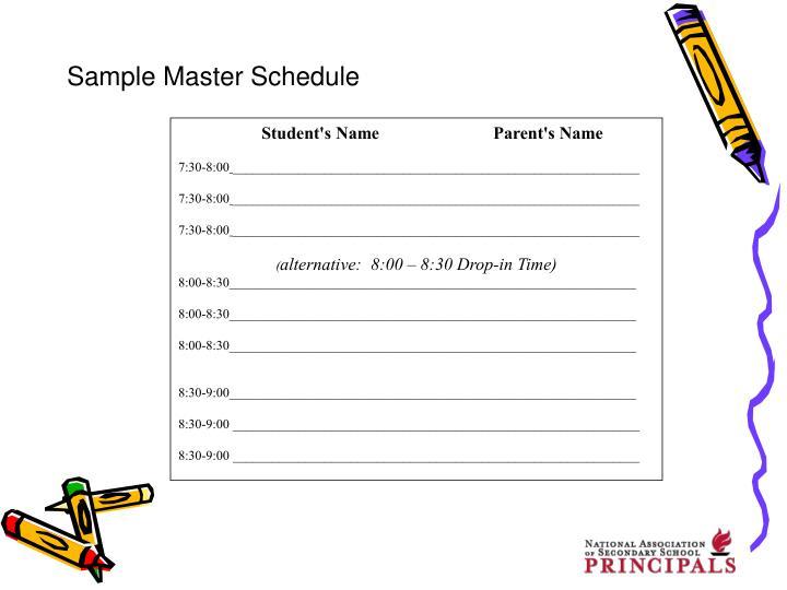Student's NameParent's Name
