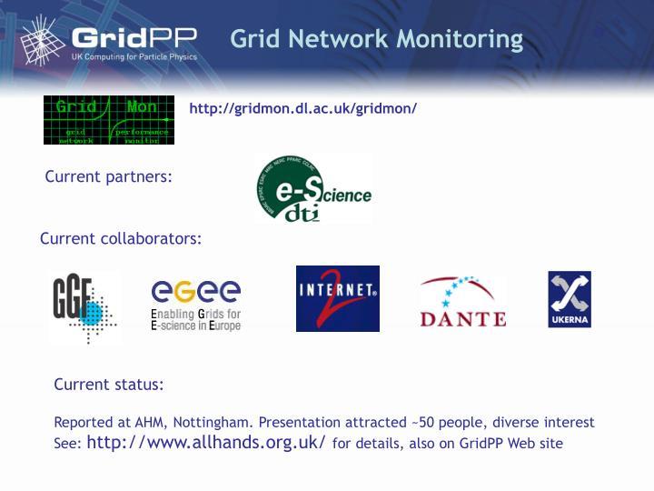 Grid Network Monitoring