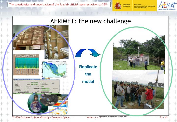 AFRIMET: the new challenge