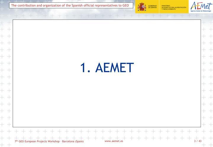 1. AEMET