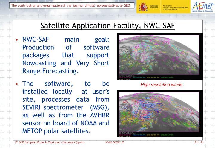 Satellite Application Facility, NWC-SAF