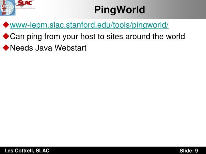 PingWorld