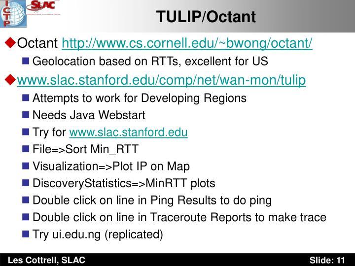 TULIP/Octant