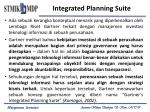 integrated planning suite