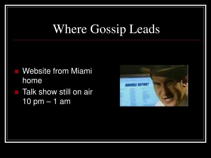 Website from Miami home