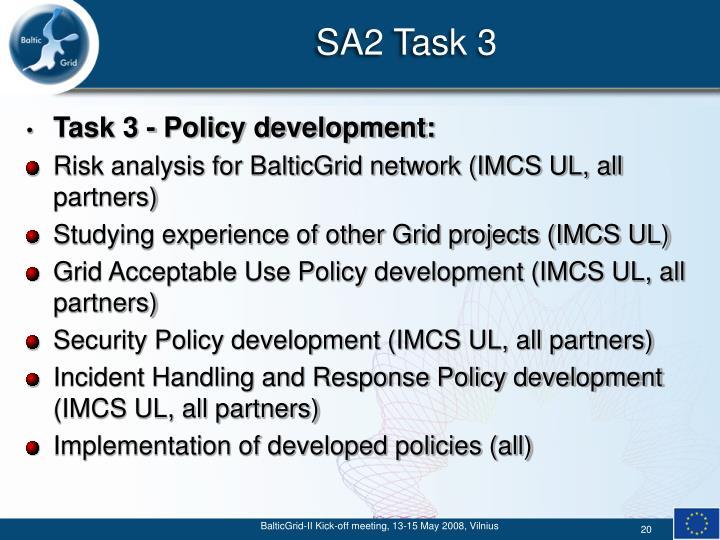 SA2 Task 3
