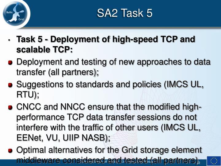 SA2 Task 5