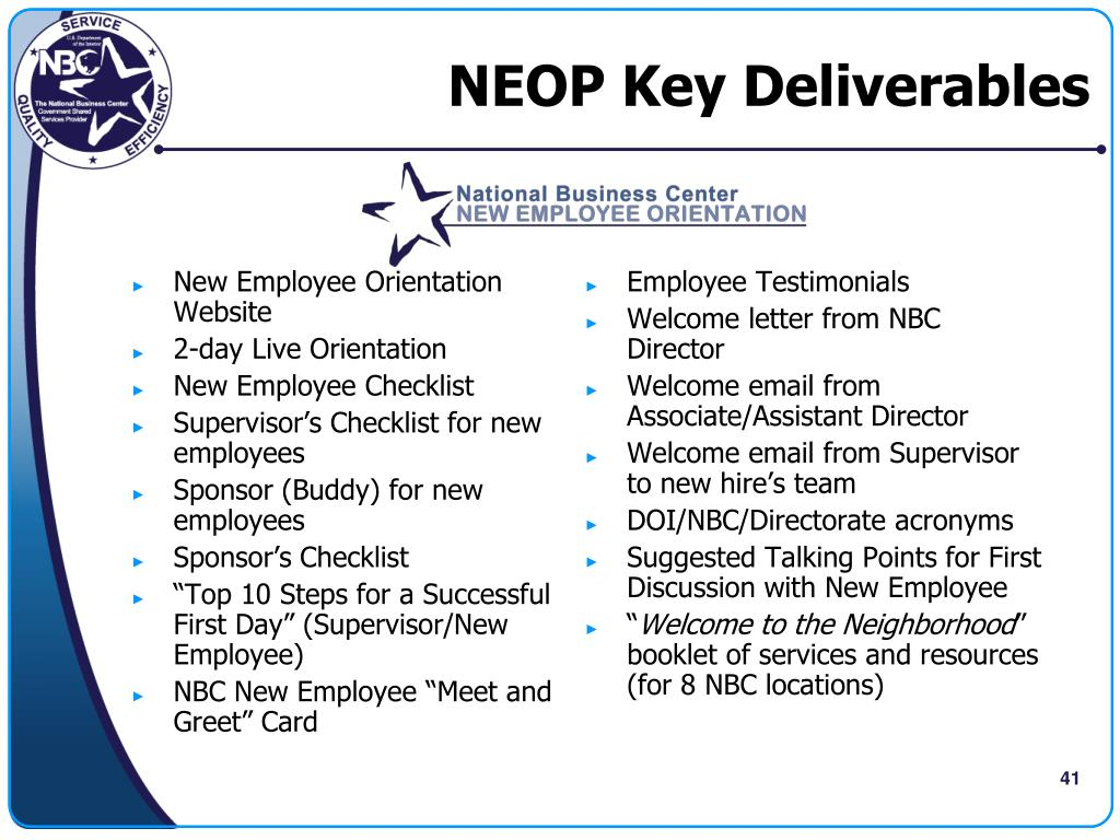 PPT - New Employee Orientation 101: Building a World-Class