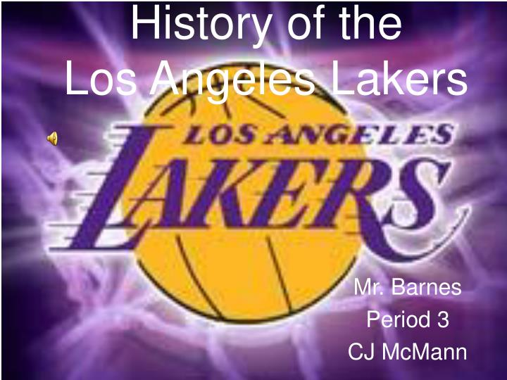 history of the los angeles lakers n.