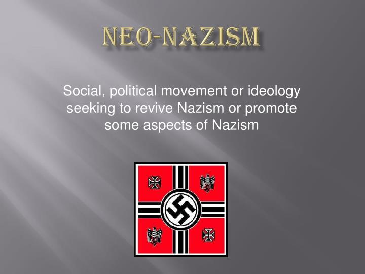 a description of nazism in political ideologies
