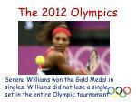the 2012 olympics11