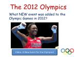 the 2012 olympics12