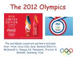 the 2012 olympics2