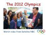 the 2012 olympics5