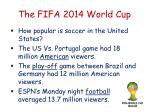 the fifa 2014 world cup1