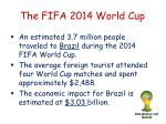 the fifa 2014 world cup2