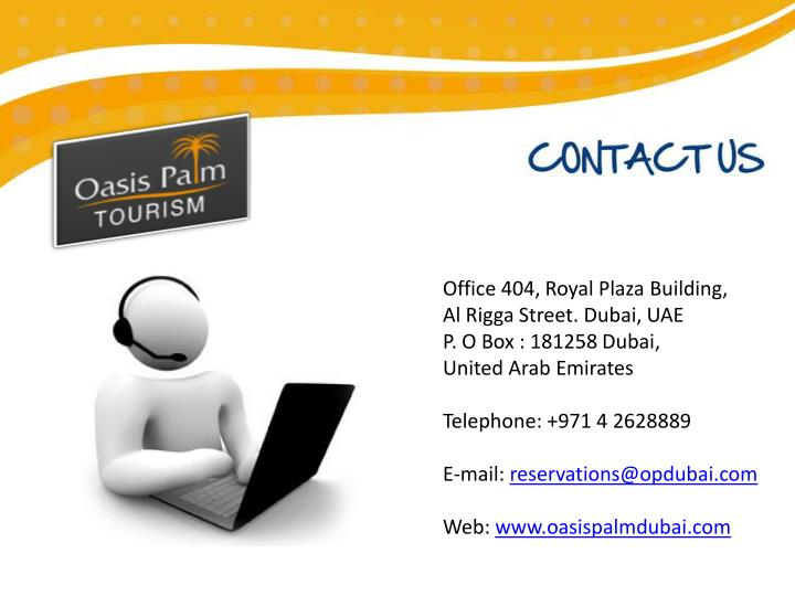 Office 404, Royal Plaza Building,