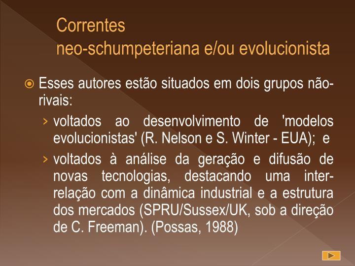 Correntes