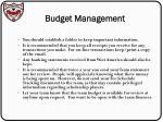 budget management2