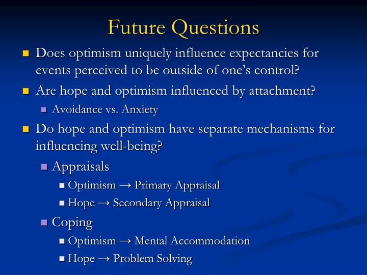Future Questions