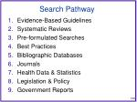 search pathway