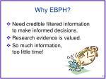 why ebph