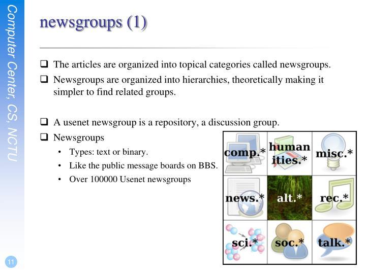 newsgroups (1)