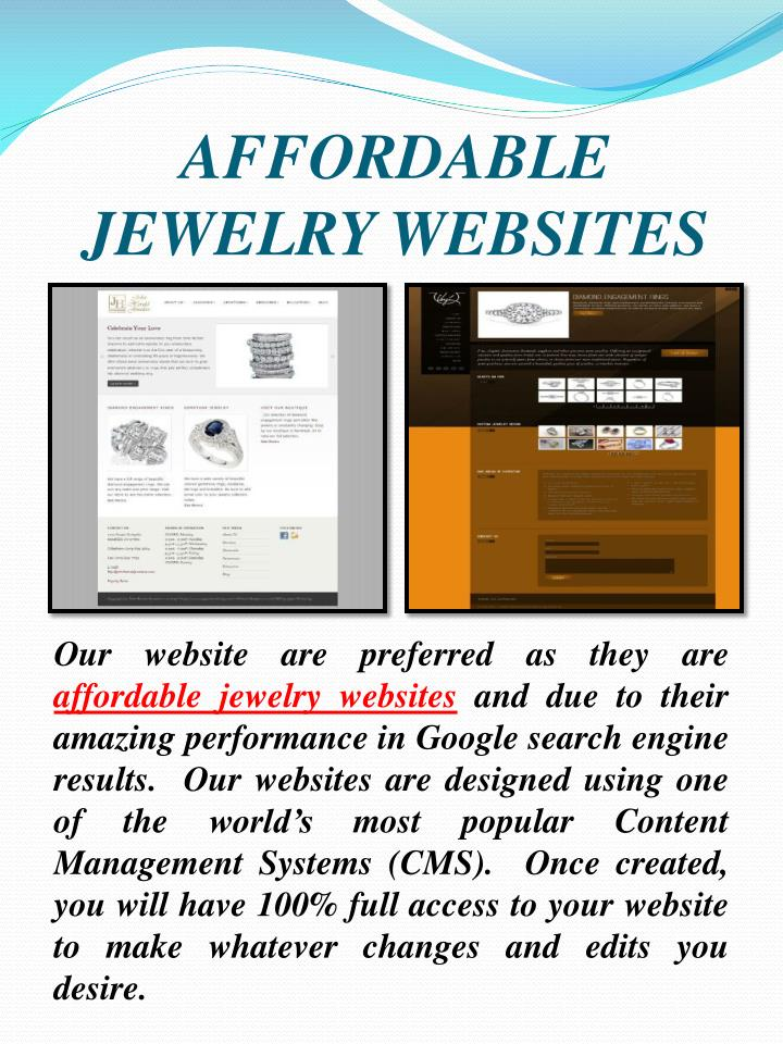 Affordable jewelry websites