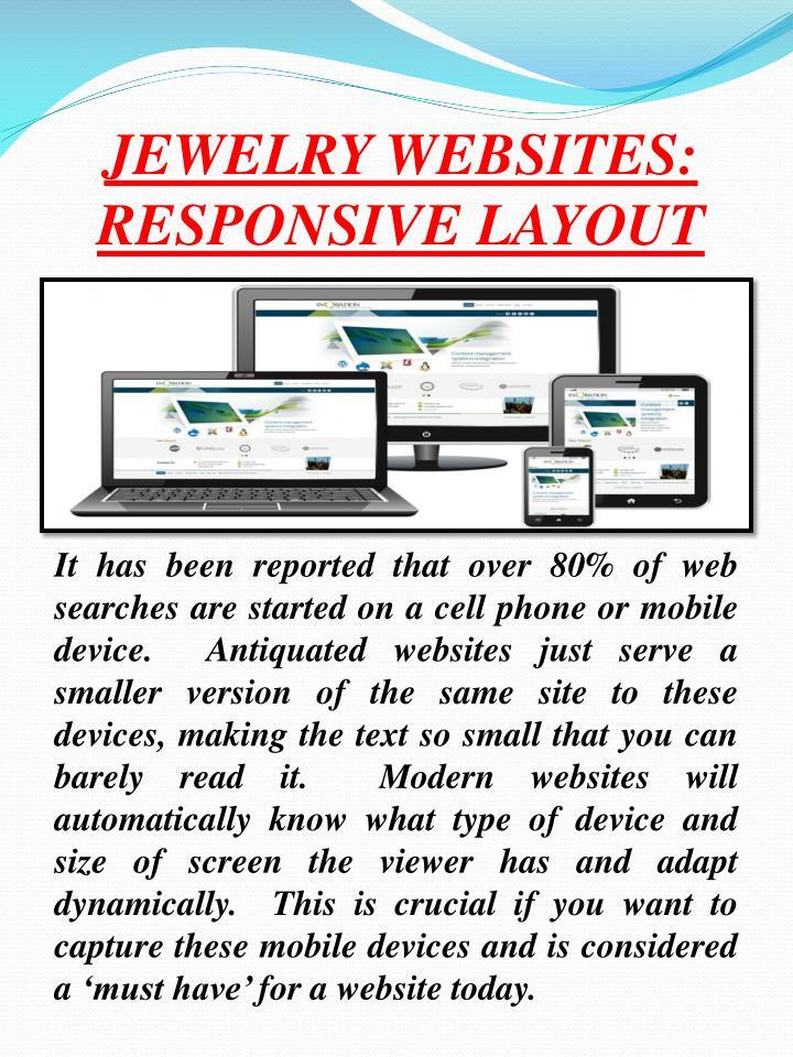 JEWELRY WEBSITES: