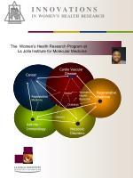 i n n o v a t i o n s in women s health research2