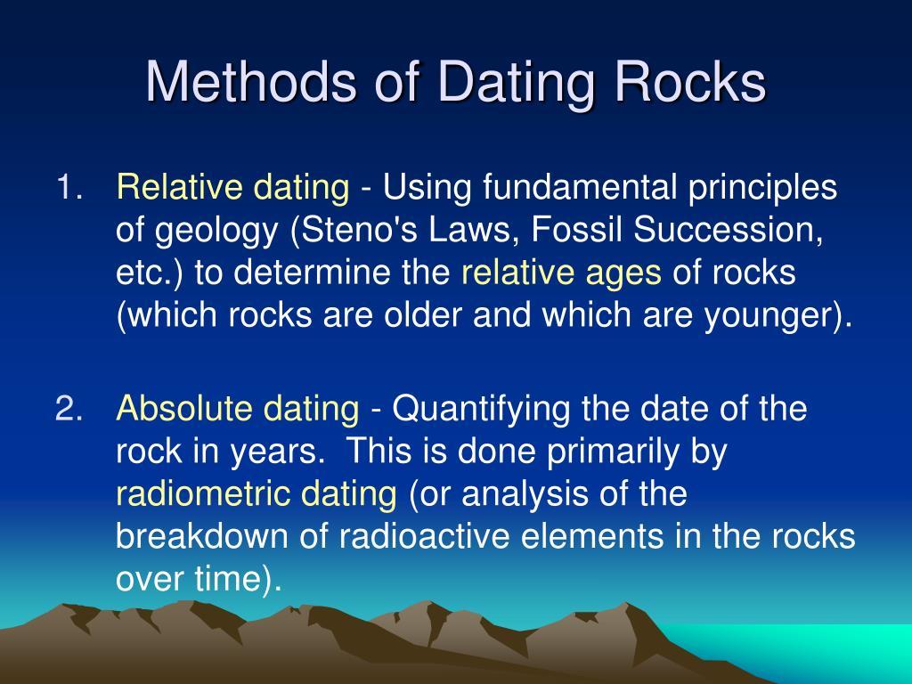 Wat is radiometrische dating in de geologie