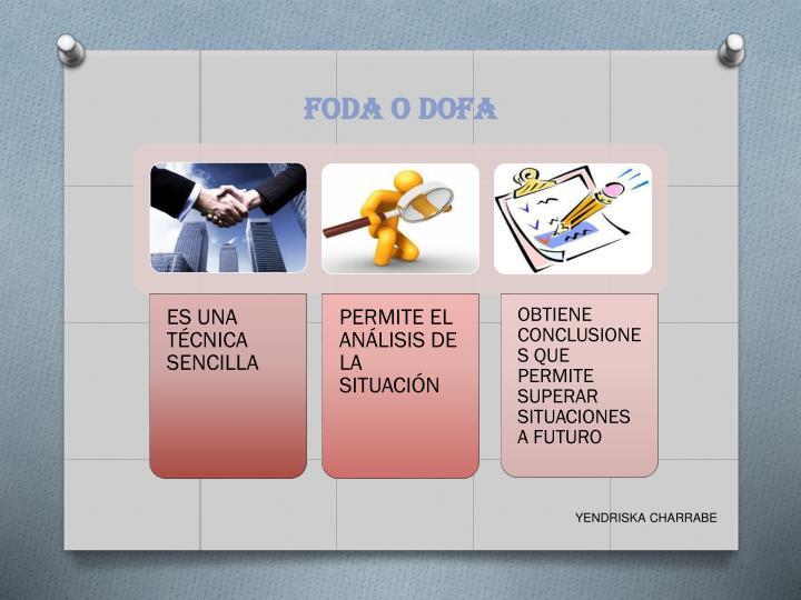 FODA O DOFA