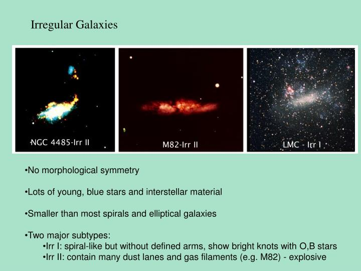 Irregular Galaxies