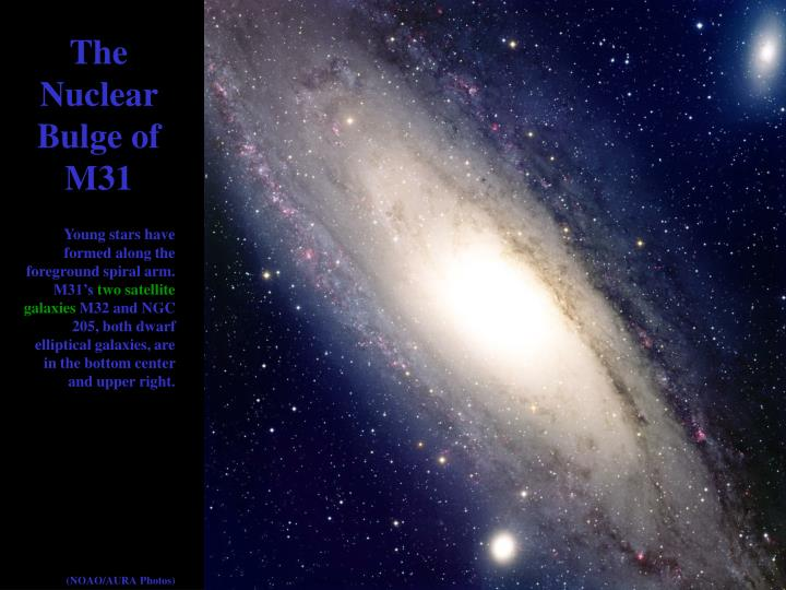 The Nuclear Bulge of M31