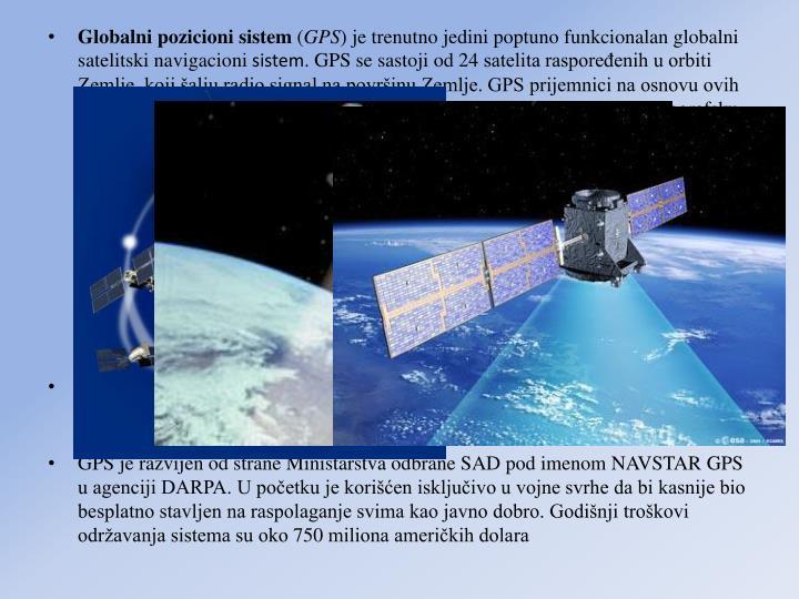 Globalni pozicioni sistem