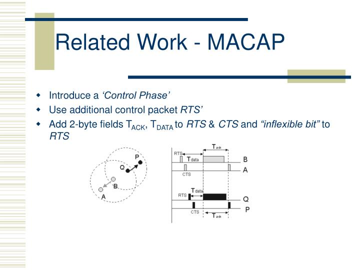 Related Work - MACAP