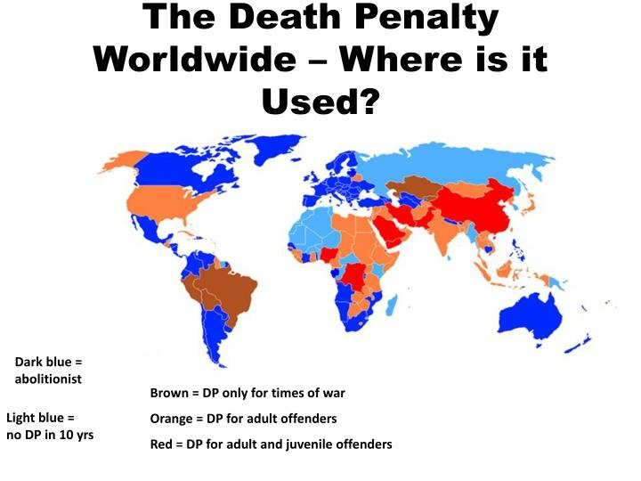 facts death penalty worldwide Facts and figures on the death penalty over half the countries in the world have now abolished the death penalty in law or practice.