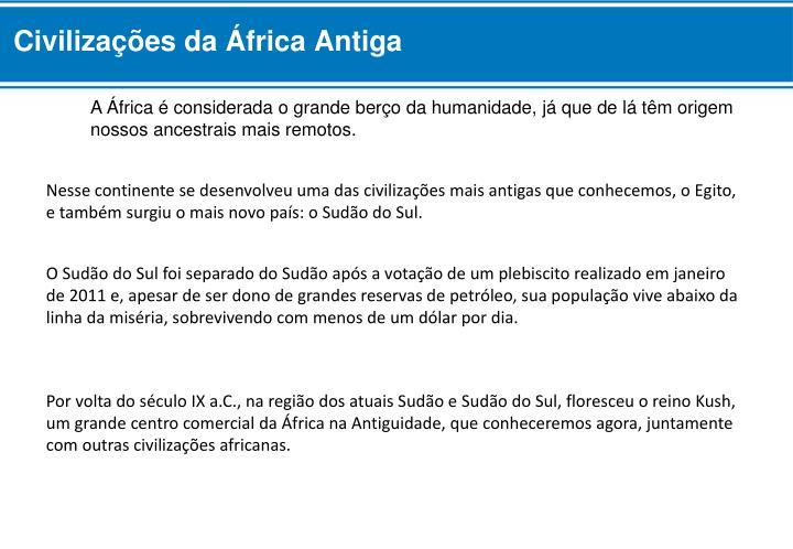 Civilizações da África Antiga