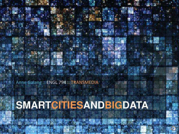 smart cities and big data n.