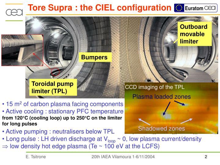 Tore supra the ciel configuration