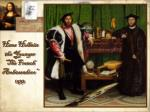 hans holbein the younger the french ambassadors 1533
