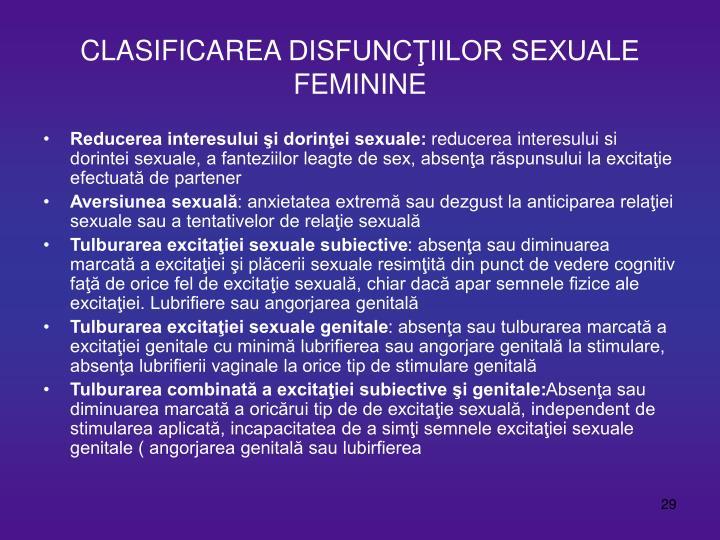 Incompatibilitate sexuala fiziologica