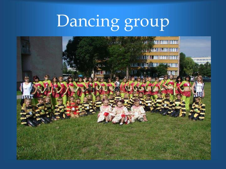 Dancing group