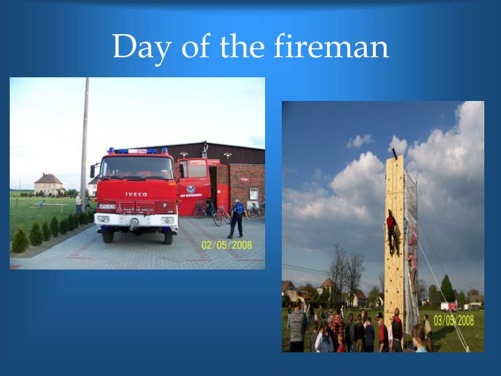 Day of the fireman